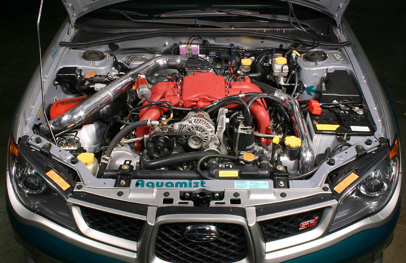 Turbocharged 3 0 Tribeca Engine H 6 Vs Stock Sti